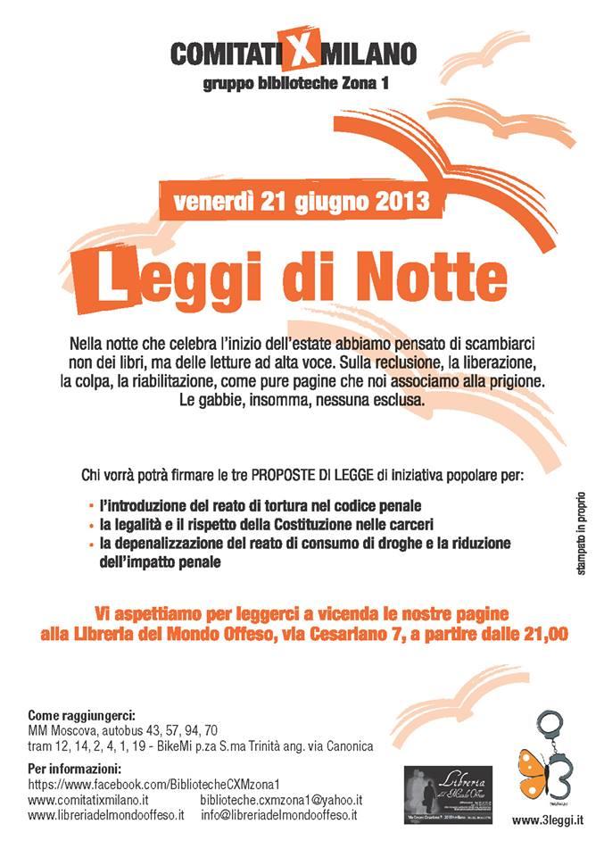 Leggi di notte e participation ed eventi a milano e sua for Chi fa le leggi in italia
