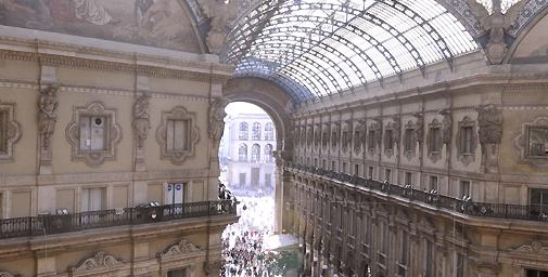Galleria Vittorio Emanuele II  concluso il restauro del salotto di ... 89b4bd8a767d
