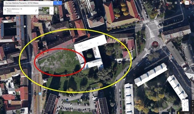 3 nuovi palazzi tra via ornato e via passerini di 7 piani for Piani di palazzi contemporanei